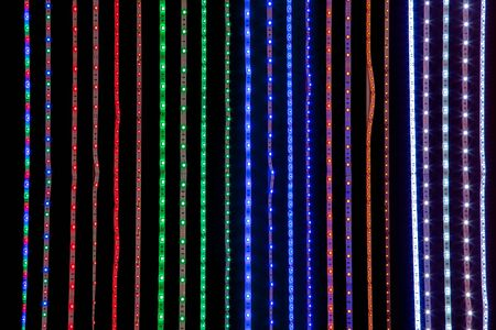 Led strip lighting of the different colors