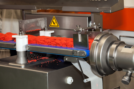 farce: Ground meat production line, fully automatic production and portioning equipment