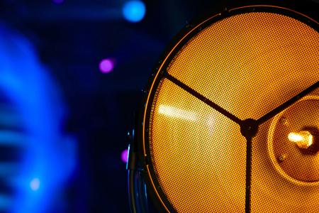 source: Stage light source closeup