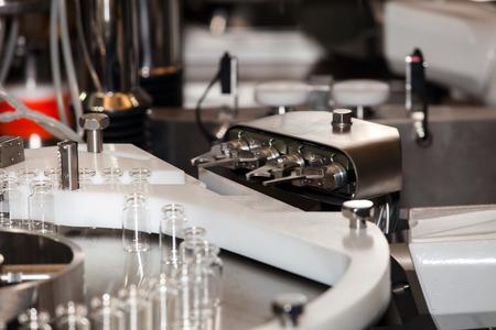 isolators: Robotic asepting compounding system, steriline isolators equipment Stock Photo