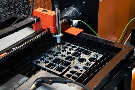 Laser cutting machine Stok Fotoğraf