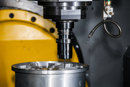milling center: Milling machining center Stock Photo