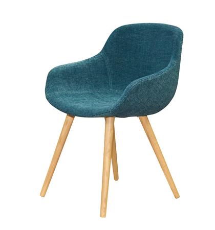 Modern textile chair