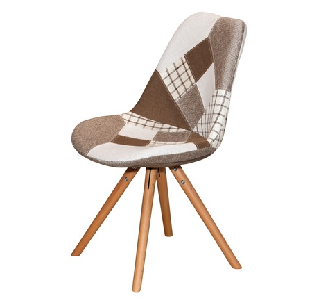 vintage furniture: Modern textile chair