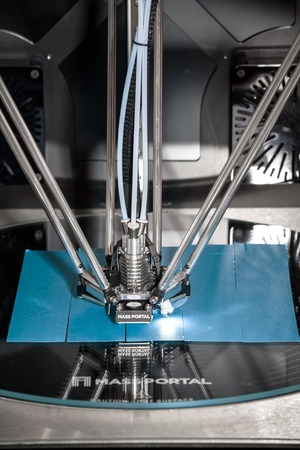 3d printer Mass Portal printing process 에디토리얼