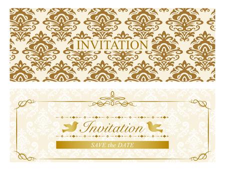 招待状カード セット