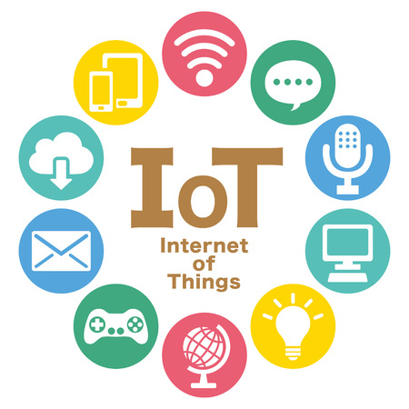Internet of things colorful icon