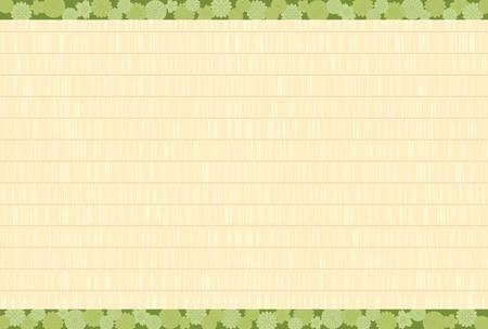 和風の床の畳のテクスチャ  イラスト・ベクター素材
