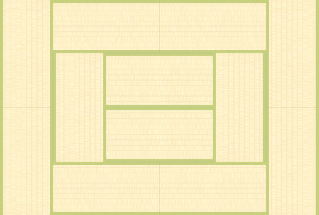Japanese style floor tatami texture