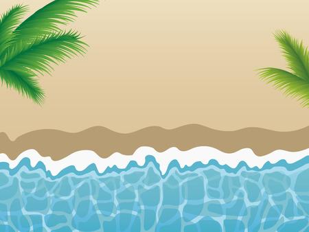 joyful: Summer beach background