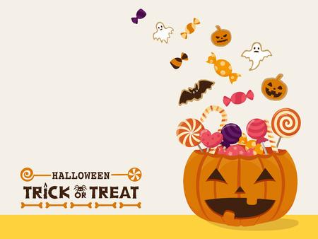 Halloween sweets vector illustration Stok Fotoğraf - 85047861
