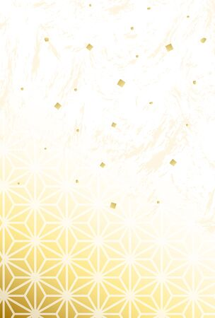A Japanese traditional pattern background