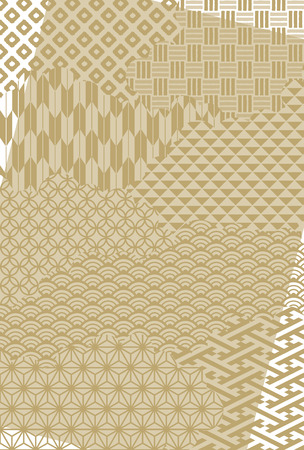 Japanese traditional pattern background