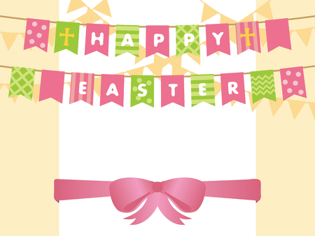 Happy easter vector background.