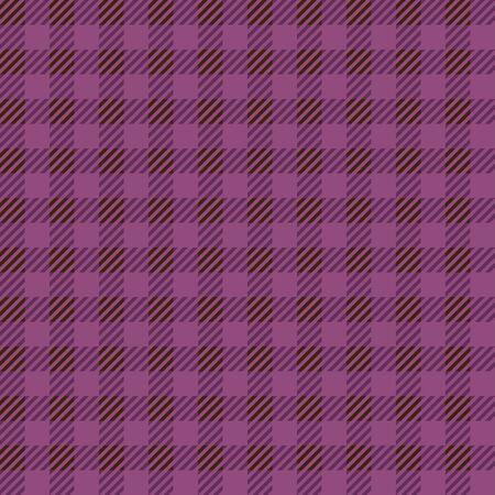 tartan check seamless pattern. Purple color.