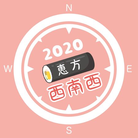 Japanese Lucky Direction in 2020 year.