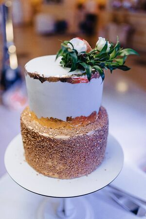 wedding cake for celebrating marriage and holding ceremony and banquet 写真素材