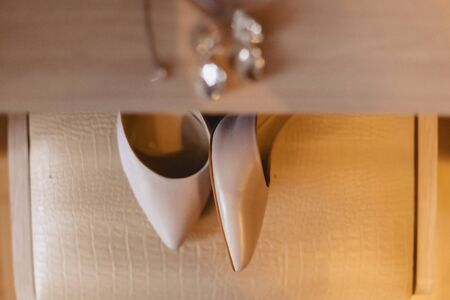 elegant womens shoes for celebrations and weddings, bridal wear and weddings details