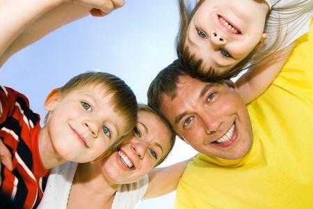 Rostros de personas felices  Foto de archivo - 3248859
