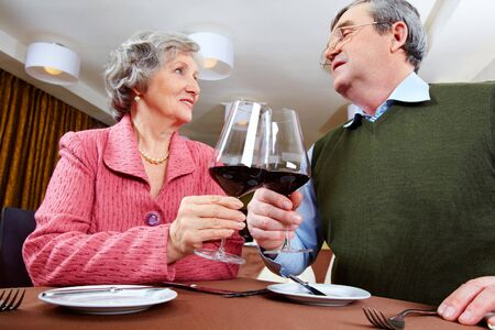 Image of couple looking at each other and drinking for love Stock Photo - 6894262