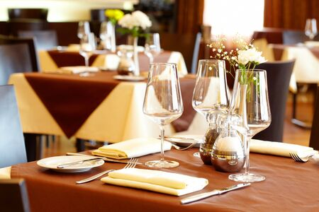 dinning: Image of elegant restaurant