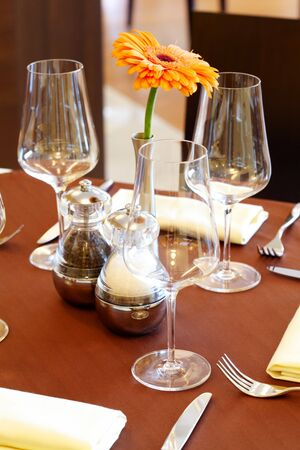 Image of nice table setting photo