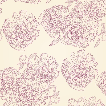 Vector illustration of spring flower ornament Vector