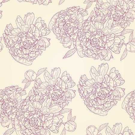 Vector illustration of spring flower ornament