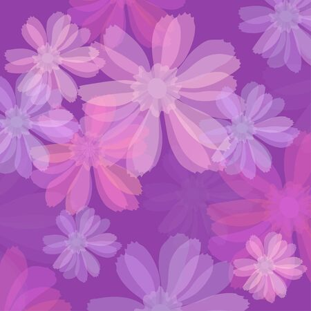 Vector illustration of beautiful lilac background  Vector