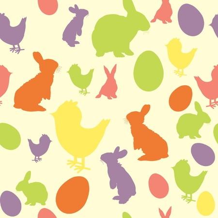 Vector illustration of Easter background  Vector