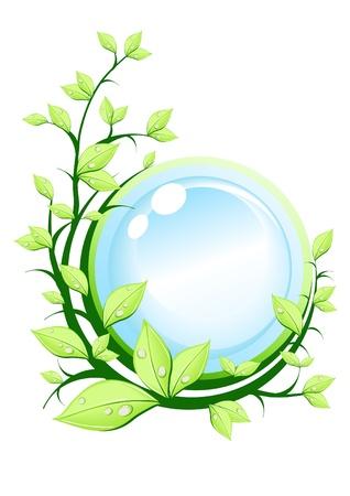 Ecology concept, vector illustration Vector