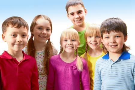Group of adorable boys and girls together Stock Photo - 9726252