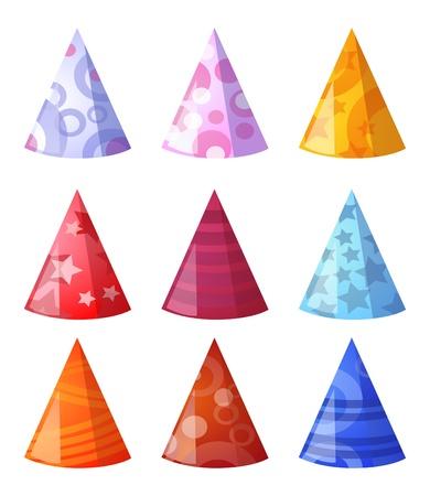 illustration de la collection de chapeaux