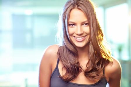 Young beautiful woman looking at camera  Stock Photo - 14750987