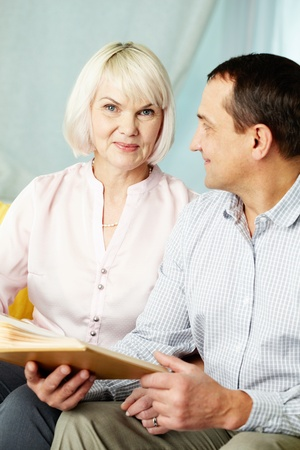 Portrait of mature man and his wife spending time together Stock Photo - 14798632