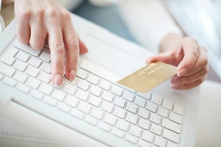tarjeta visa: Escribiendo en los datos