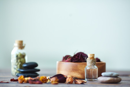 Objects for aromatherapy with focus on vial