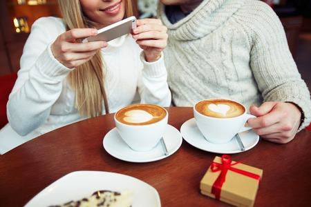 Resultado de imagen de cafe fotografiando