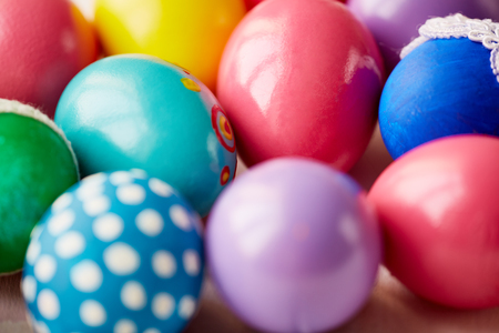 redemption: Variety of decorative Easter eggs