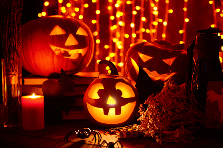 antichrist: Halloween lights in the dark