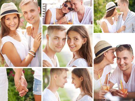 parejas enamoradas: Colección de feliz fechas amorosas