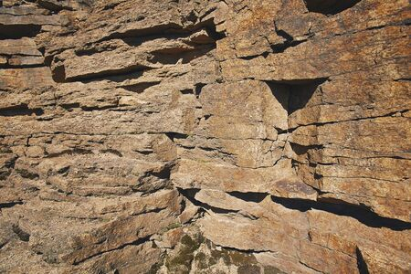 fissures: Pattern of natural stone rock