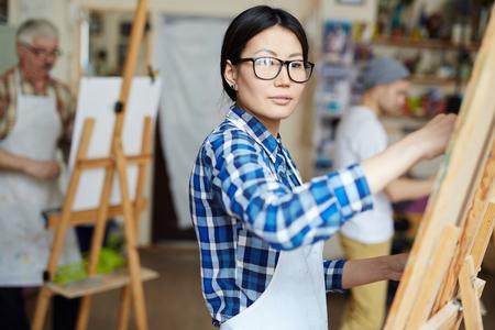 artistas: Inspirado dibujo en la base del estudiante