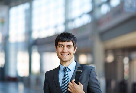 success man: Successful businessman lookng at camera