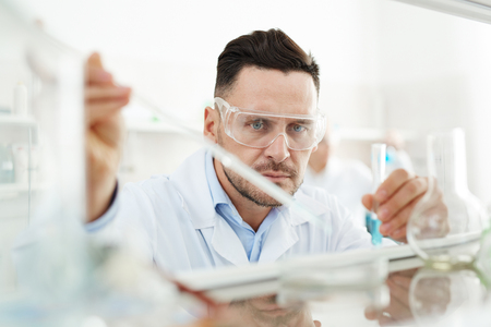 clinician: Serious clinician carrying out investigation of new substance