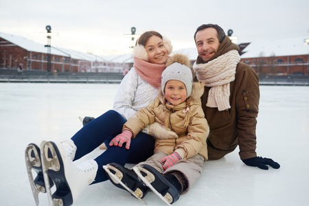 figureskating: Active family