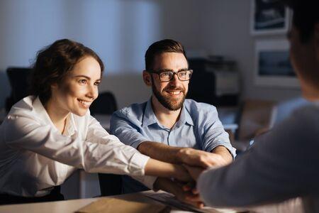 altogether: Collaboration Stock Photo