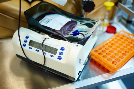 hemophilia: Giving blood