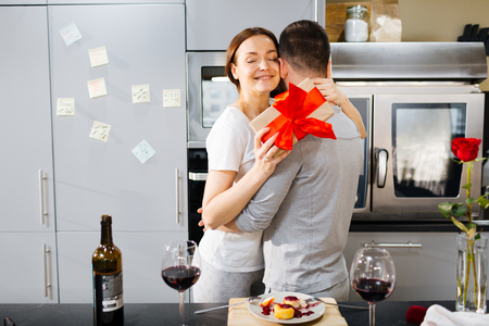 Home romance Stock Photo