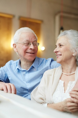 sweethearts: Retired sweethearts Stock Photo